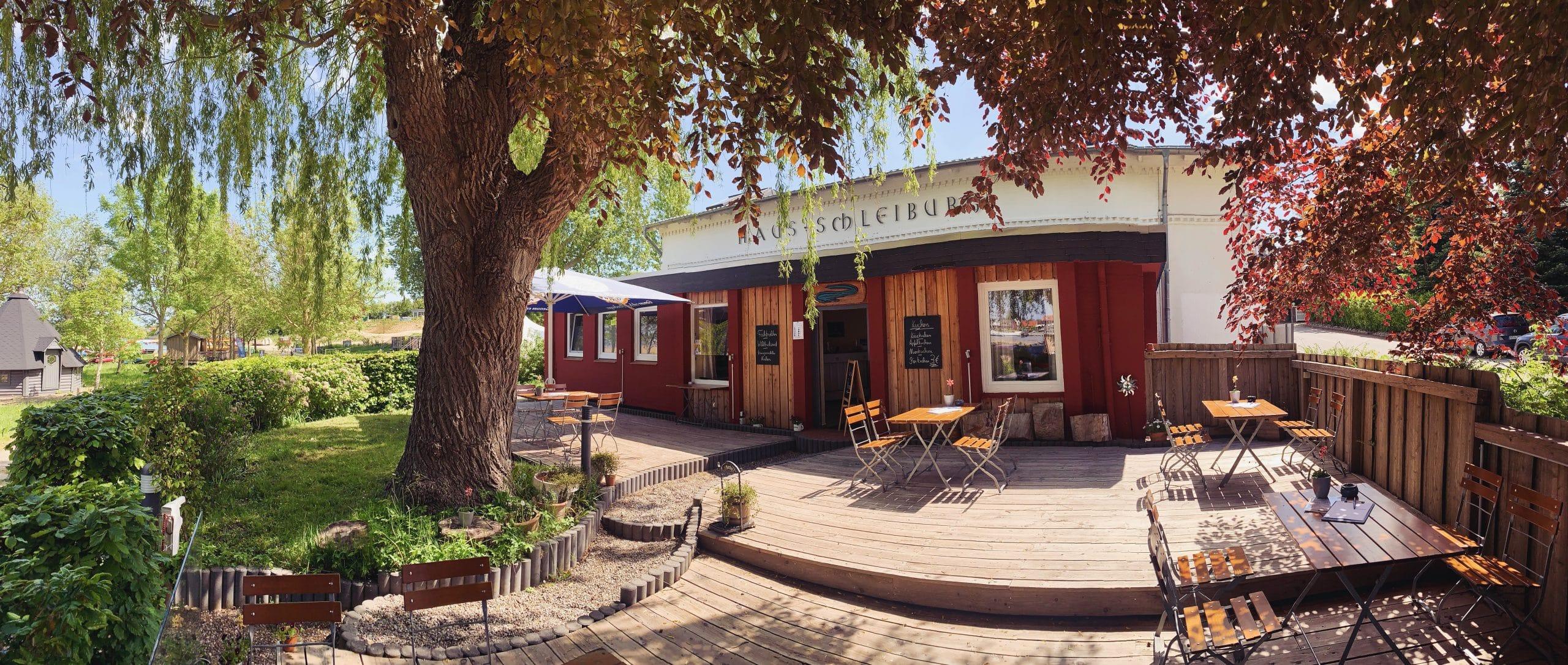 Impressionen Biergarten Café Schleiwelle scaled